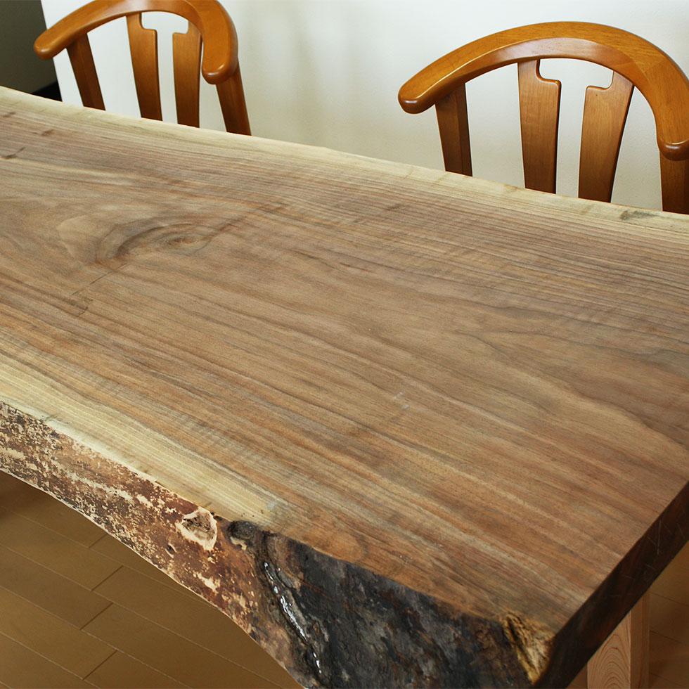 天然木家具テーブル